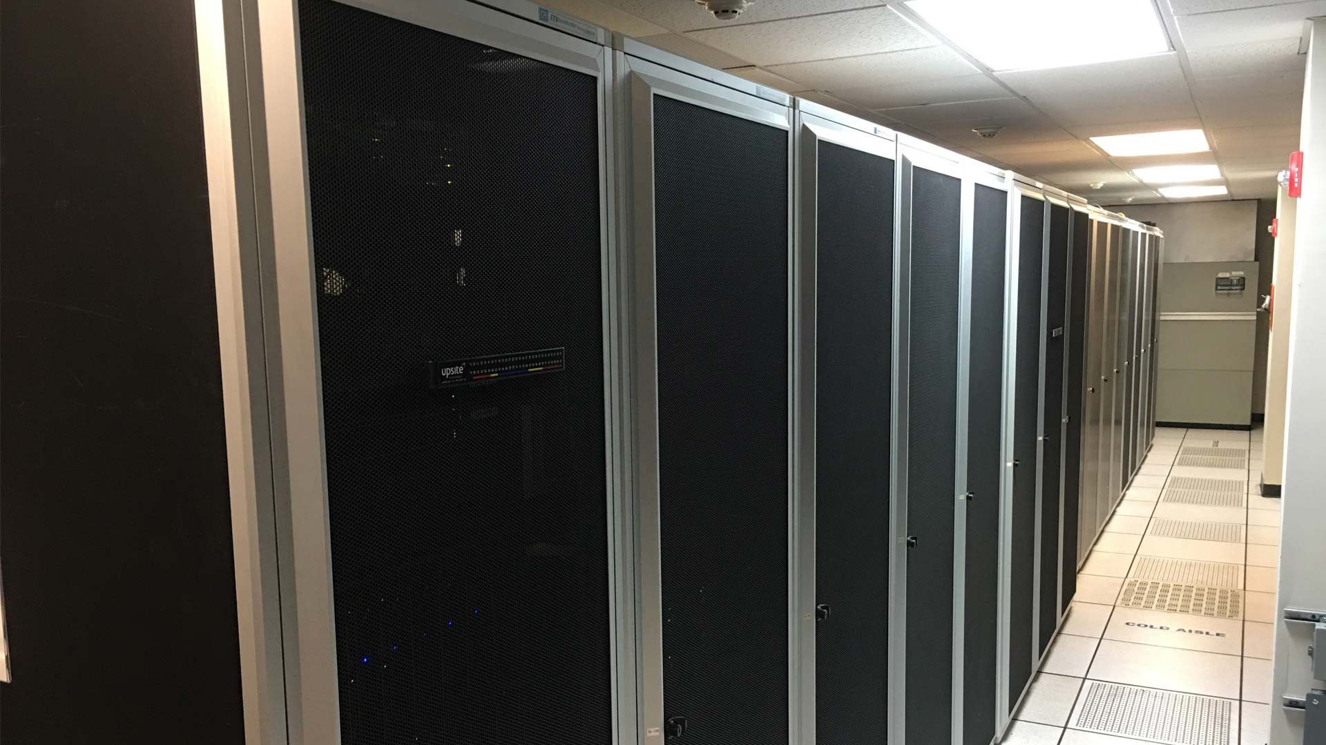 Our data center that is regularly audited.