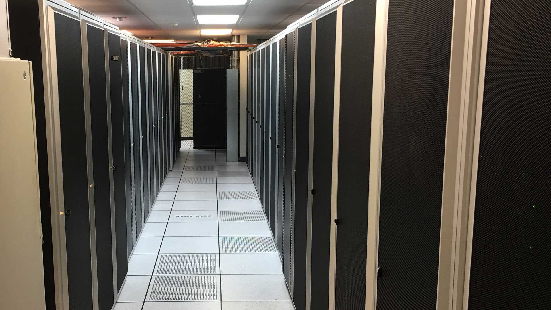 Picture of our data center all our servers and cabinets located in Orlando, %%State%%.