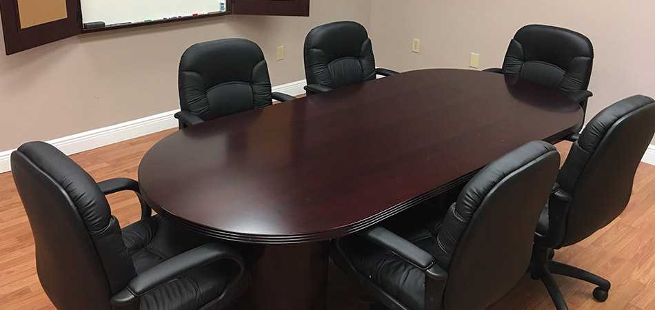 Conference room at Colo Solutions.