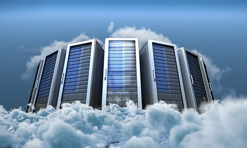 Virtual cloud servers in our tier-4 data center.
